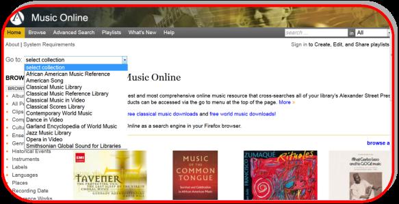 Music Online-Alexander Street Press-Nuevas colecciones2