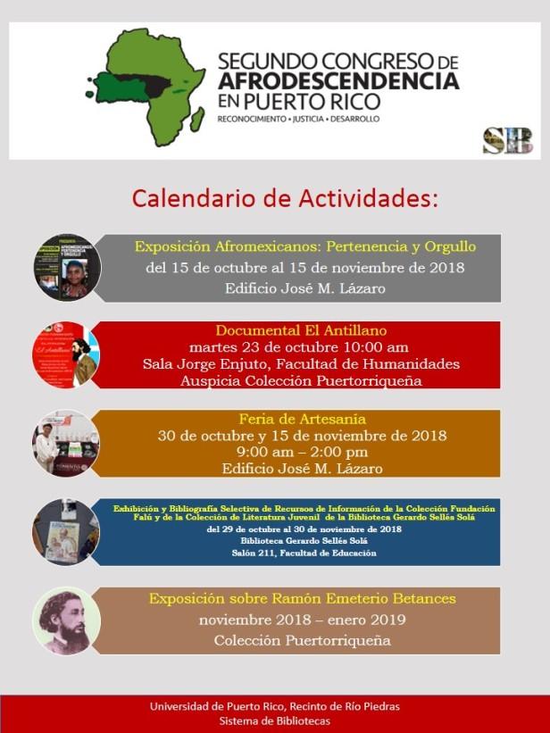 Calendario Actividades Sistema de Bibliotecas