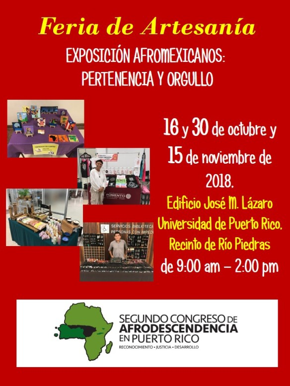 Promocion Feria de Artesania - Lazaro 16 oct