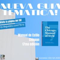 Nueva guía temática: Manual de Estilo Chicago, 17ma edición