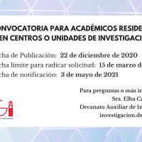 Proyecto de Académicos Residentes