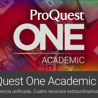 ¿Ya conoces la base de datos ProQuest One Academic?