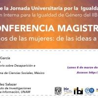 Jornada Universitaria por la igualdad de género