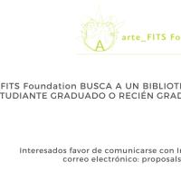 La arte_FITS.Foundation busca bibliotecario y estudiante graduado o recién graduado
