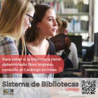 El Catálogo en línea del Sistema de Bibliotecas